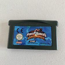 Power Rangers Dino Thunder Nintendo Gameboy Advance SP Game - Free Postage