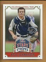 Kyle Schwarber RC 2015 Panini Baseball Stars & Stripes Rookie Card # 63 Cubs