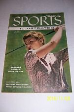 1956 Sports Illustrated BARBARA ROMACK NO LABEL News Stand CURTIS CUP Kentucky