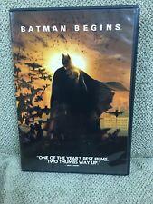 Batman Begins (Dvd, 2005, Widescreen) Like New!