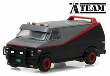 GREENLIGHT 1/64 HOLLYWOOD THE A TEAM 1983 GMC VANDURA GREY BLACK 44790B