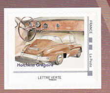 FRANCE 2019 Voitures de style Luxury cars adhesive Hotchkiss Gregoire MNH **