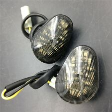Smoke Euro LED Flush Mount Turn signal lights For YZF R1 R6 R6S 2006-2008