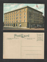 1910s ALLISON HOTEL CEDAR RAPIDS IOWA POSTCARD