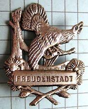 Anstecknadel Pin Hutanstecker c15 Freudenstadt im Schwarzwald mit Auerhahn