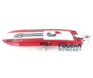 E32 Fiber Glass Catamaran Red Electric Racing PNP RC Boat W/ MotorServo ESC
