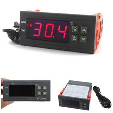 Digital Temperature Controller Thermostat AC 10A 110V 220V LED Sensor IncubatVG