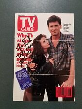 Courtney Cox-signed photo TV GUIDE COVER - JSA COA