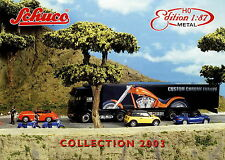 Schuco Collection Prospekt D GB 1:87 Metal 2003 Modellautos Miniaturmodelle