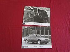 N°9126 / 2 photos de presse d'epoque PEUGEOT 309 GTI 06.87