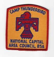 BOY SCOUT  CAMP THUNDERBIRD  60'S PP   NATIONAL CAPITAL A.C.   DC