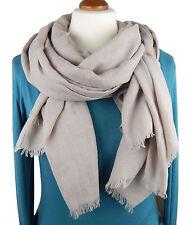Damen-Schals aus Baumwollmischung ohne Muster