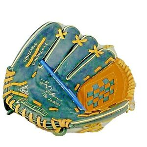 Franklin Bo Jackson Left Handed Throwing Baseball Glove Blk Lace Up Leather 4662
