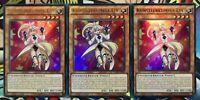 3x Künstlerkumpel Ein DRL3-DE002 ULTRA RARE 1.Auflage DEUTSCH PLAYSET Yu-Gi-Oh