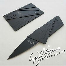 Outdoor Sports Hiking Camping Emergency Survival Gear Credit Card Knife Update