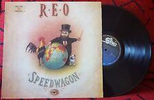 R.E.O. REO SPEEDWAGON ** The Earth, A Small Man...*** RARE 1990 Venezuela LP