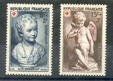 PROMO STAMP / / TIMBRE DE FRANCE NEUF N° 876/877 ** CROIX ROUGE 1950 COTE 6,10 €