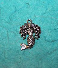 Pendant Mermaid Charm Sea Siren Ocean Charm Sea Fairy Charm Nymph Charm