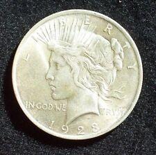 1 DOLLARO ,moneta in argento 1923  SILVER PEACE DOLLAR  Phladelphia old coin USA
