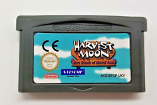 Harvest Moon More Friends Mineral Town Cartridge Game Boy Advance GBA NDS NDSL
