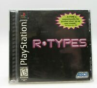 R.TYPES - Sony PS1 PlayStation 1 Black Label CIB Black Label - VGC