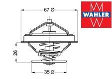 Thermostat BMW E39 520i, 523i,528i  models built before 09/98 WAHLE  11537511083