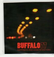 (GC630) Buffalo 77, Happiness And Good Intentions - 2009 DJ CD