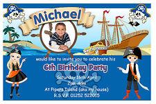 Birthday, Child Pirates Cards & Stationery for Invitations