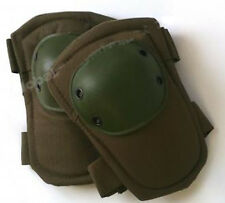 Green tactical swat elbow pads for paintball, airsoft (#bte50)