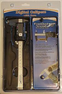 672060 FRANKFORD ARSENAL ELECTRONIC CALIPER - NEW - FREE SHIP