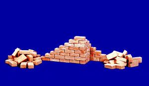 2000 Ziegelsteine 1:72 terrakotta mittel Juweela 27076 0,50€//100 Stück