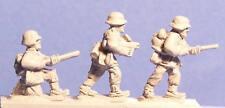Peter Pig Miniatures 8 461 Late War German Flamethrowers FOW Wargamming WWII NOS