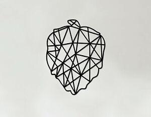 Hops Art - Wooden Laser Cut Wall Art - Geometric Heart Art