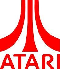 Atari Retro Logo Vinyl Sticker - laptop, wall art, window,