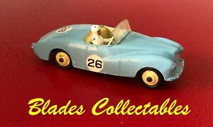 DINKY TOY 107 SUNBEAM ALPINE SPORTS EXCELLENT ORIGINAL WITH FREE REPRO BOX