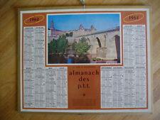 ALMANACH DES POSTES 1964  LE TARN A MONTAUBAN CALENDRIER PTT