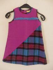 CHRISTIAN LACROIX - robe en laine rose et bleu - Taille 6 ans - EXCELLENT ÉTAT