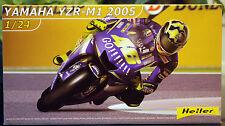 2005 Yamaha YZR-M1 Valentino Rossi, 1:24, Heller 80928