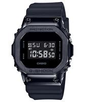 CASIO GM5600B-1 G-Shock Classic Steel Bezel Shock Resist Resin Black Men's Watch