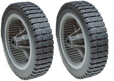 "SET OF 2 PLASTIC SELF PROPELLED  GEAR GEARED DRIVE WHEELS MURRAY 20""-22"" 071133"
