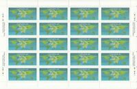 UNIVERSAL POSTAL UNION = Full Sheet of 20 stamps Canada 1999 #1806 MNH VF