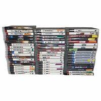Lot of 55 Playstation 3 Games Wholesale Bulk