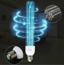 20W E27 UVC Ozone Ultraviolet Compact Germicidal Sterilization Quartz Light Lamp