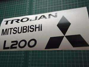 Mitsubishi L200 TAILGATE Replacement / alternative  stickers SET