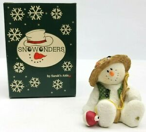 Sarahs Attic Snowonders At Work Christmas Ornament Months August Numbered 32 Of