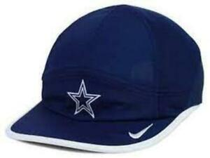 Dallas Cowboys NFL Nike Women's Navy White Dri-Fit Featherlight 2.0 Cap Hat NWT