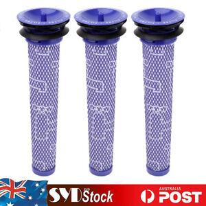 3x Washable Pre Motor Filter For Dyson DC58 DC59 DC61 DC62 DC74 V6 V7 V8 Vacuum