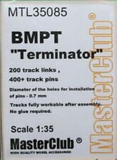 "Masterclub, MTL35085, 1:35, pistas de metal para BMPT ""Terminator"", T-72B3M"