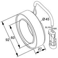 NRF Compressor Clutch - 38420 |Next working day to UK