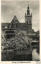 6452/ Foto AK, Danzig, St. Katharinenkirche, ca. 1935